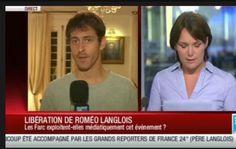 """Reportero liberado por las FARC dice que su secuestro fue """"muy light""""."""