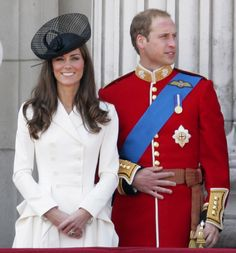 Kate and William were the picture of elegance at the 2011 Trooping the Colour ceremony for the Queen's birthday. via StyleList