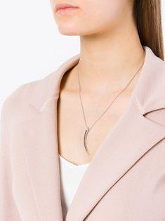 Shaun Leane Signature Tusk diamond necklace