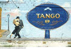 Argentina, Buenos Aires -  Tango paintin