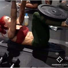 """9,251 Likes, 187 Comments - Hannah Eden (@hannaheden_fitness) on Instagram: """"Amazing Buck-it Thursday @pumpfit_club this evening!! As always!It's almost the weekend hope you…"""""""
