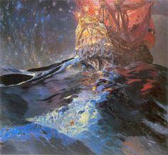 Ferdynand Ruszczyc - Nec mergitur, 1905