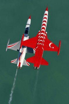 Northrop NF-5A Freedom Fighter - Turkish Stars (Türk Yildizlan), Turkish Air Force (Türk Hava Kuvvetleri), Turkey.                                                                                                                                                      Mais