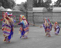 Folk dance of a small town of Michoacan, Mexico. This dance is interpreted by youths, does a homage to the people of the third age.  - Danza folclórica en un pueblito de Michoacán, México. Esta danza interpretada por jóvenes, hace un homenaje a la gente de la tercera edad..