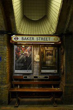 Baker Street Tube Station, ca 1863, Marylebone, London (oldest surviving underground station)