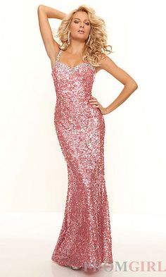 Long Beaded Open Back Dress by Mori Lee 93041 at PromGirl.com