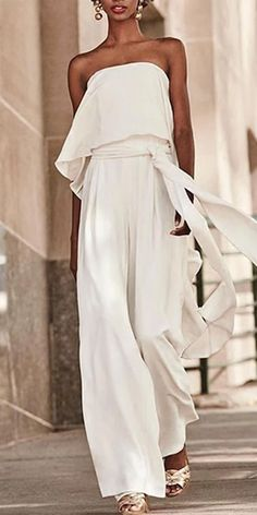 Product Sexy Pure Colour Belted Off-shoulder Sleeveless Jumpsuits Brand Name Milaioshopshop SKU Gender Women Sty Sexy Dresses, Casual Dresses, Fashion Dresses, Elegant Dresses, Summer Dresses, Formal Dresses, White Maxi Dresses, Pink Dresses, Winter Dresses