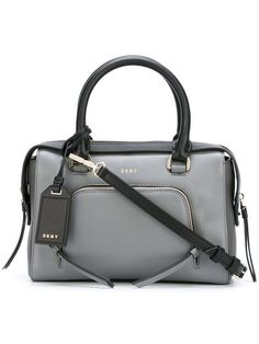 DKNY bicolour tote. #dkny #bags #shoulder bags #hand bags #leather #tote #