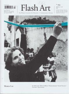 Flash art   nº 314 EdiciónInternational ed Milan : G. Politi ; Long Island City, N.Y. : Distribution U.S.A. European Publishers Representatives, 1980-