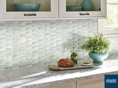 Our Calypso Picket Pattern Glass Mosaic Tile will add the perfect contemporary and modern flair to your space and will coordinate beautifully with a wide range of design styles.