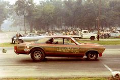 The Lonely Bull 66 Chevelle Funny Car