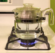 How to use a Pyrex percolator