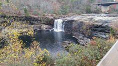 Little river falls in Nov 2014