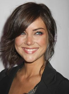 Jessica Stroup Straight, Brunette Updo   Suggested by beautyriot for my fac e shape xx