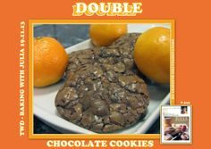 Sweet and That's it: Double Chocolate Cookies - Biscotti Cioccolatosissimi Baking With Julia, Chocolate No Bake Cookies, Your Recipe, Mondays, Biscotti, Muffins, Cupcakes, Yummy Food, Breakfast