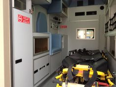 Military ambulance vehicles mandate operation under harsh combat environments. As a result, these military vehicles need to have special design and reinforcements to work efficiently under those Rescue Vehicles, Ambulance, Land Cruiser, Military Vehicles, Clinic, Cabinet, Design, Clothes Stand, Army Vehicles