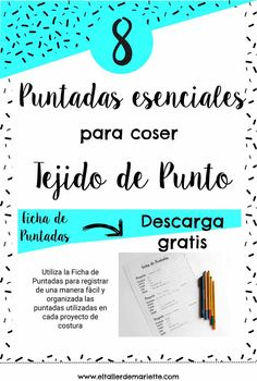 puntadas elasticas Pattern Making, Book Design, Stretch Fabric, Sewing Projects, Sewing Patterns, Knitting, Reading, Tips, How To Make