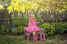 Two year old - photography - ideas - shoot - pink - love