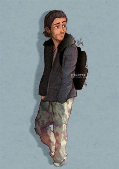 Camouflage boy by itslopez on DeviantArt