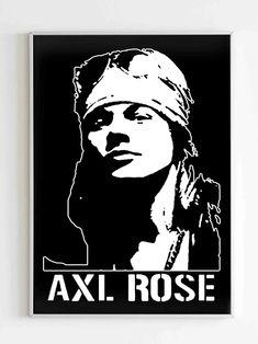 Guns And Roses, Axl Rose, Holiday Gifts, Art Drawings, Museum, Fine Art, Paper, Xmas Gifts, Guns N Roses