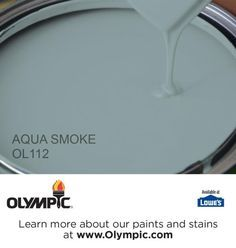 AQUA SMOKE OL112 is a part of the aquas collection by Olympic® Paint.                                                                                                                                                      More