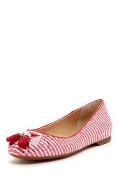 Sperry Top-Sider Bliss Sequin Stripe Tassel Flat on HauteLook