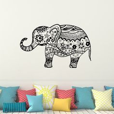 7 Best Elephant Wall Decor Images In 2016 Decals For
