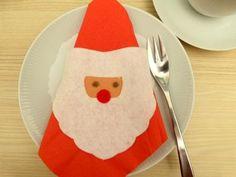 Ein ganz besonderer Serviettenhalter - passend zu Nikolaus