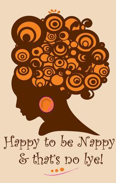 Nautral Hair Tee  Happy to be Nappy by 7evolution on Etsy, $21.99