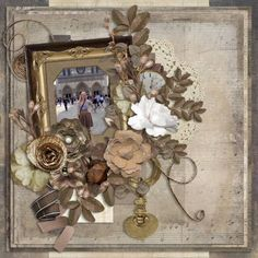 Layout of the Day for November 16, 2015 - Gotta Pixel created with Charming Heritage by Laitha's Designs