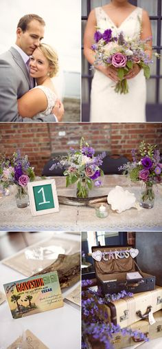 Golden Gardens Bathhouse Wedding by Nickel Images | Style Me Pretty