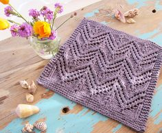 Ravelry: Spa Cloth 2 pattern by Stephannie Tallent knit with Blue Sky Alpacas Organic Worsted Cotton Yarn
