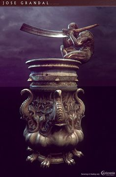 ArtStation - Castlevania: Lords of shadow 2. Secret Container, Jose Grandal