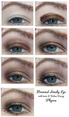 Bronzed Smokey Eye