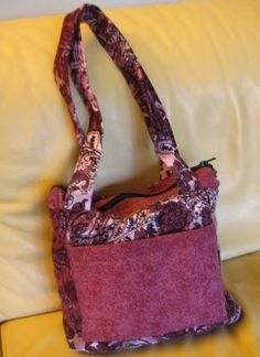 tote bag from recycled fabric