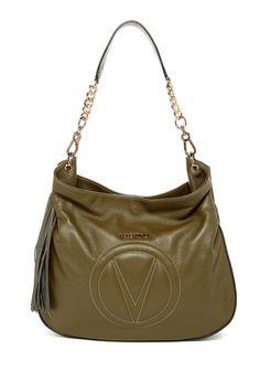 Penelope Dollaro Leather Hobo