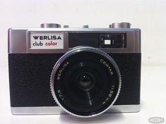 Cámara Fotos Werlisa Club Color Retro