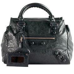 Balenciaga Giant Covered 'Midday' Satchel Handbag