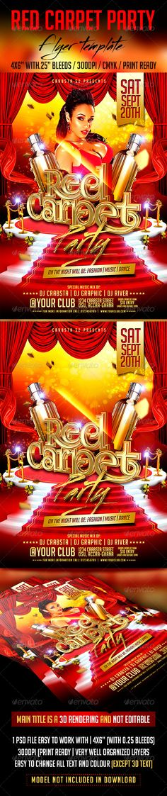 Gold Headphones Party Poster Template PSD Buy and Download http - talent show flyer