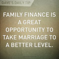 Nothing will make you and your spouse feel more like a team.