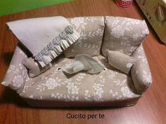Cucito creativo, divanetti copri veline, tutorial