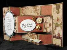 Tri-Shutter Card by JanisPDE - Cards and Paper Crafts at Splitcoaststampers