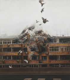 The artist Jeremy Geddes offers us surrealist paintings visually incredible
