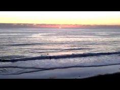 San Diego, Encinitas Sunset over the Ocean
