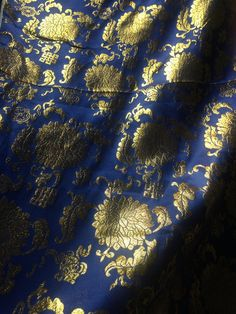 Beautiful Altar Cloth , perfect for your sacred corner in your home. Made from Satin wit golden thread embroidered flower motifs. Altar Cloth, Look Older, Beaded Skull, Embroidered Flowers, Lotus, I Am Awesome, Beautiful Things, Etsy, Curtains
