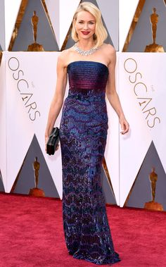 The Best Oscars Gowns of 2016 | People - Naomi Watts in Armani Prive
