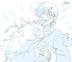 Akatsuki no Yona / Yona of the dawn anime and manga || shin ah and Jaeha