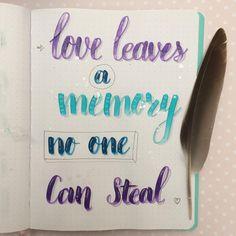 #quotes #love#brushtype #brushletteren #selfmade #zelfgeschreven#letteren#handletteren#lettering#bujo#bulletjournal #ecolinebrushpen… Bujo, Brush Pen, Mixed Media, Bullet Journal, Love, Instagram, Drawings, Quotes, Amor