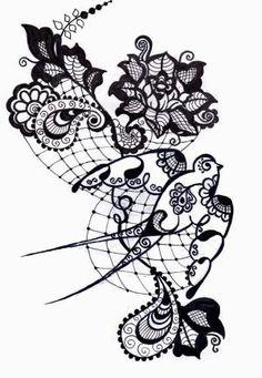 del bosquejo del tatuaje por kinguss94.deviantart.com en @deviantART por barbara.stone