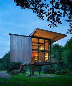Cabaña en Sol Duc / Olson Kundig Architects,© Benjamin Benschneider